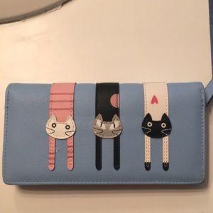 Handbags - *Sold*Cat Wallet.